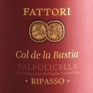 Valpolicella Ripasso DOC - Col De La Bastia Fattori